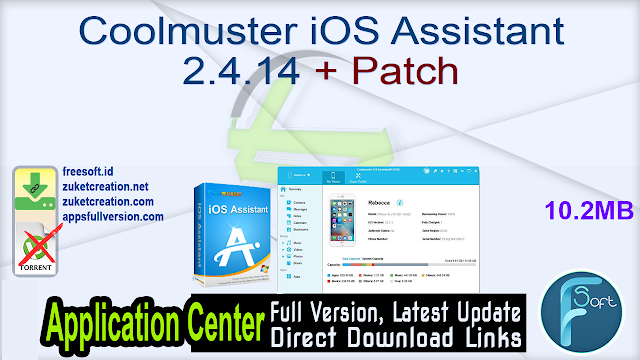 Coolmuster iOS Assistant 2.4.14 + Patch