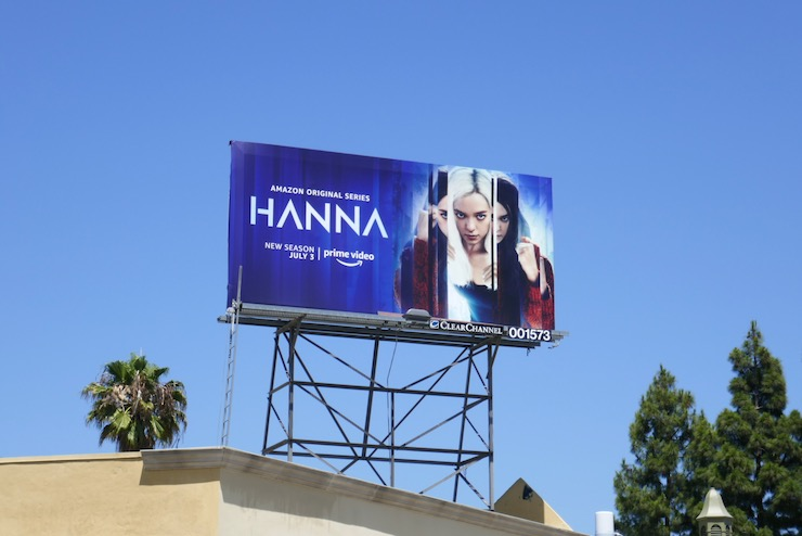 Hanna season 2 billboard