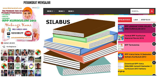 Silabus Bahasa Indonesia Kelas X SMA/MA/SMK/MAK Kurikulum 2013 Revisi 2016