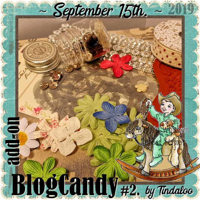 Tindaloo blogcandy September 15th