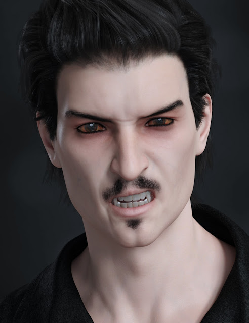 FW Vincent HD for Genesis 8 Male