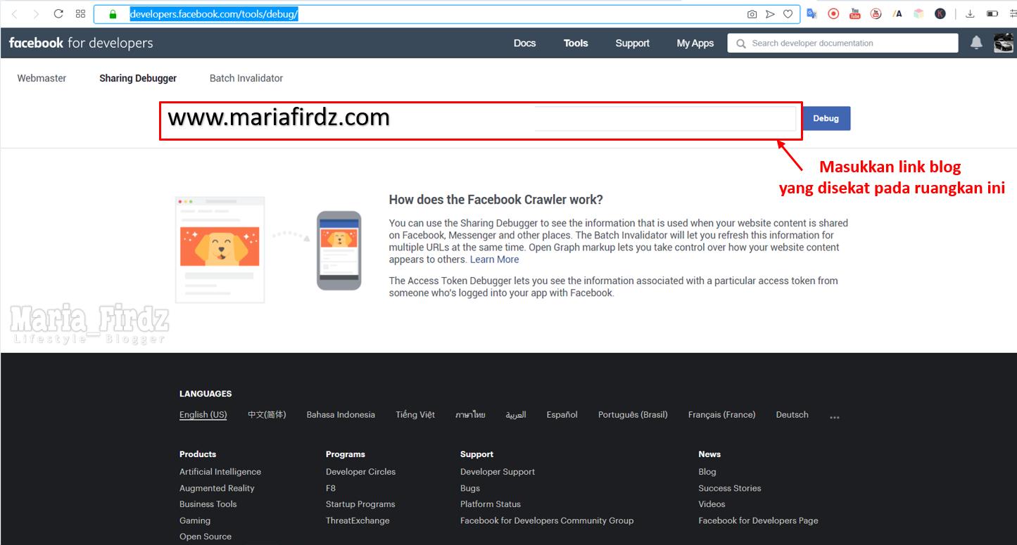 Link Blog Disekat di Facebook!