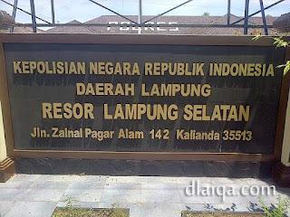 Polres Lampung Selatan (1)