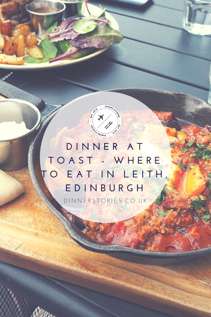 PIN: Dinner at Toast, Where to eat in Leith