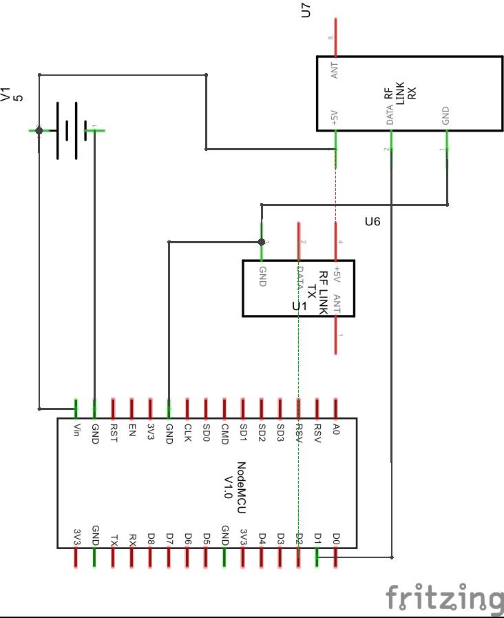 433toMQTTto433 - Bidirectional ESP8266 NodeMCU gateway