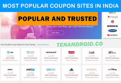 Best Free Coupon Sites India | Most Popular Coupon Sites in India