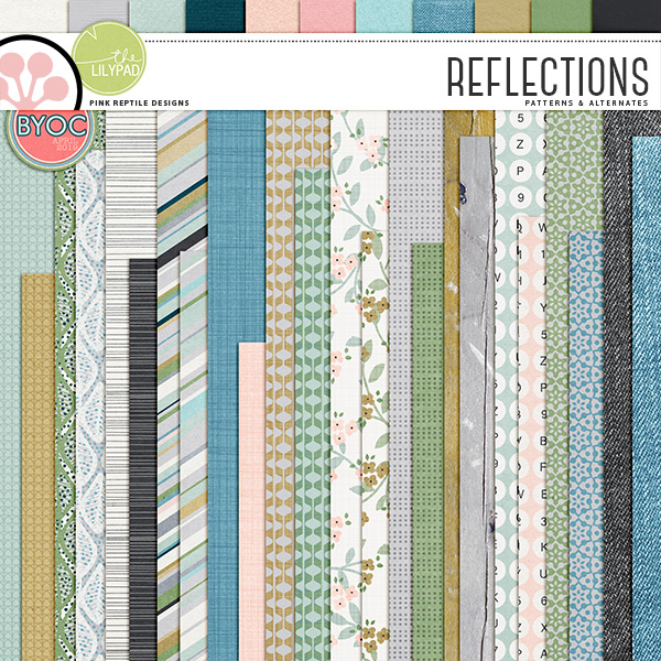 REFLECTIONS | PAPERS by Pink Reptile Designs