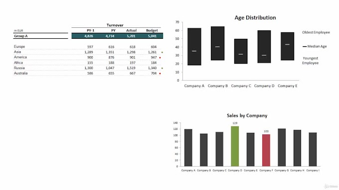 Excel Charts: Visualization Secrets for Impressive Charts