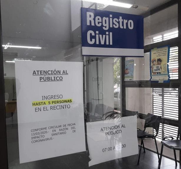 Registro Civil Crespo