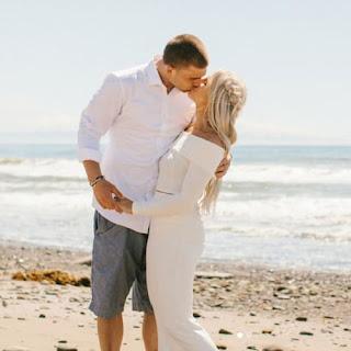 Zach Ertz With Wife