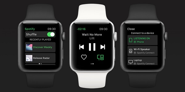 Spotify announces native Apple Watch app