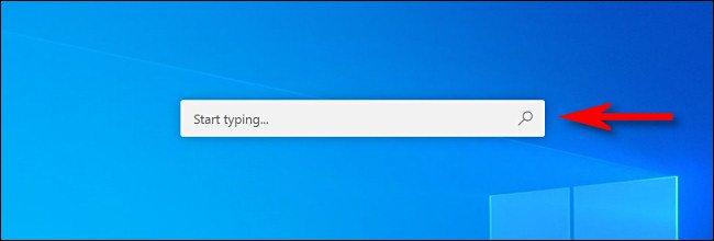 شريط البحث Microsoft PowerToys Run