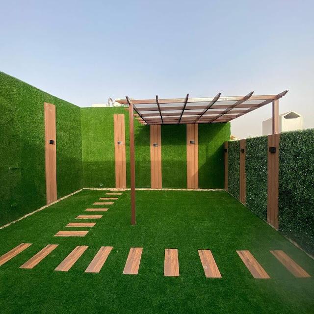 تصميم جلسات سطح المنزل بمسقط