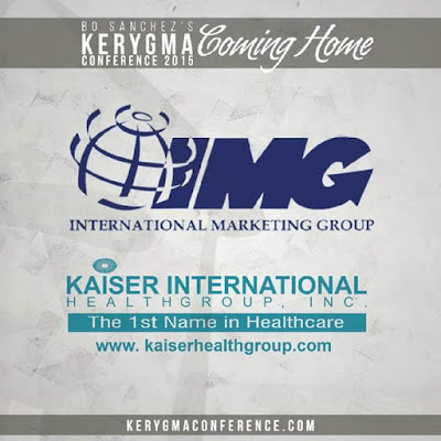 IMG and Kaiser in Bro Bo Sanchez's Kerygma Conference