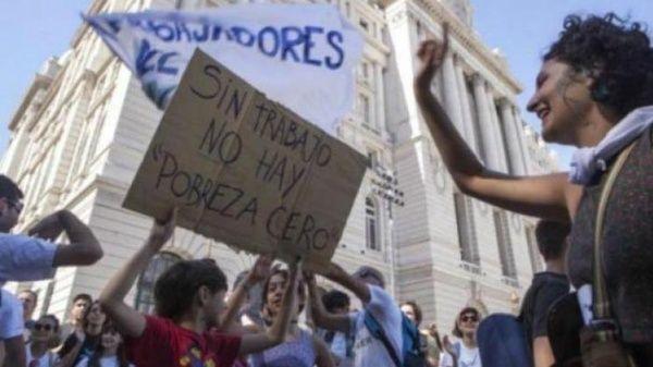 Argentinos realizarán paro y marcha contra la reforma laboral