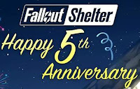 How to get Fallout Shelter 5th Anniversary Giveaways