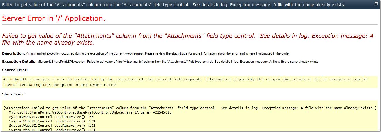 SharePoint error duplicate file ulpoad error | SharePoint 2013