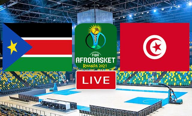 الأفروبسكات مباراة تونس و السودان كرة السلة بث مباشر يوتيوب
