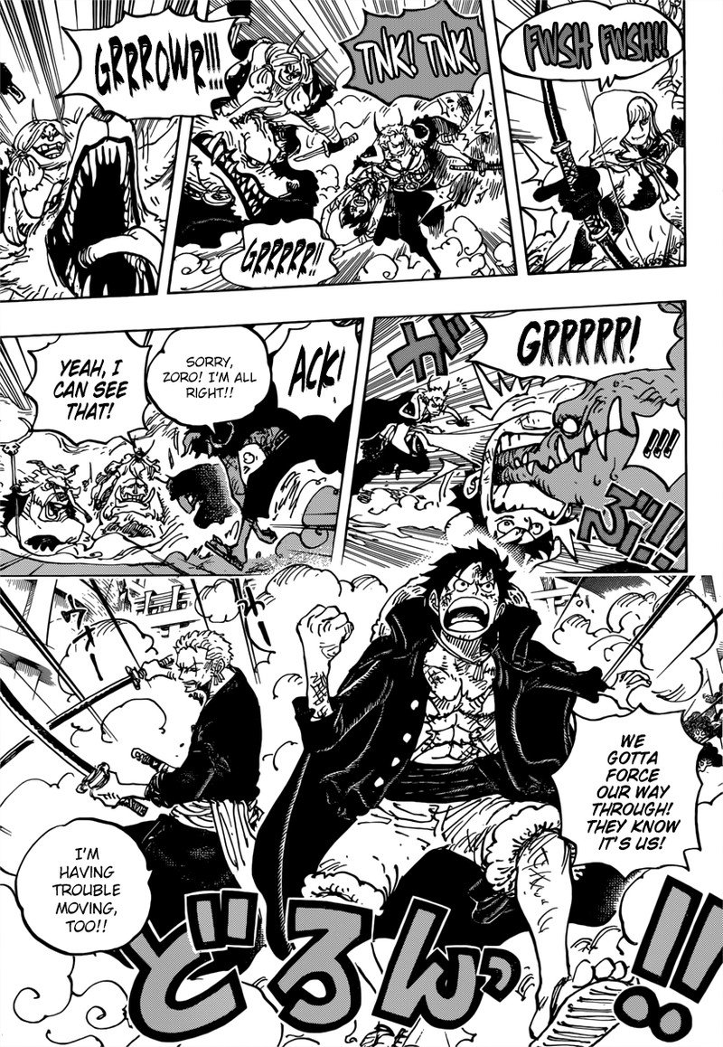 One Piece Manga Chapter 980 - Image 015