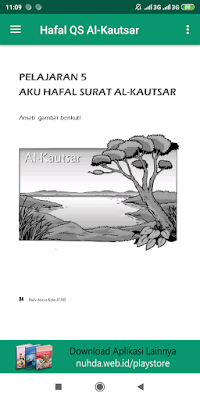 Aplikasi Buku Siswa Al-Qur'an Hadis Kelas 2 MI Kurikulum 2013 Revisi 2015