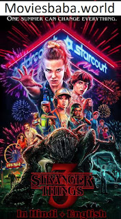 Download Stranger Things (2019) Season 3 Dual Audio 480p HDRip 1080p | 720p | 300Mb | 700Mb | ESUB | {Hindi+English}