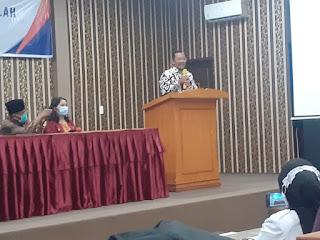 Mewakili Bupati Zahir, Kadisdik Batu Bara Tutup In Service Traning 2 Calon Kepala Sekolah