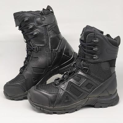 Sepatu PDL Boot Tactical Unitewin Hitam