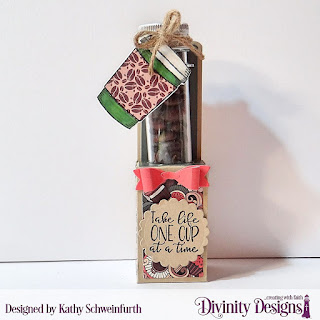 Custom Dies: Test Tube Treats, Scalloped Circles, Stamp/Die Duos: Hug In A Mug, Paper Collection:  Latte Love, Large Test Tubes