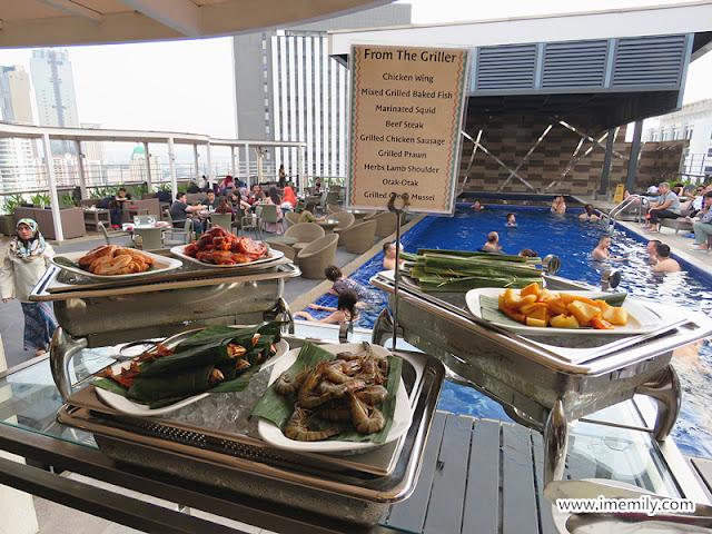 Best Western Petaling Jaya Hotel  buffet dinner bbq