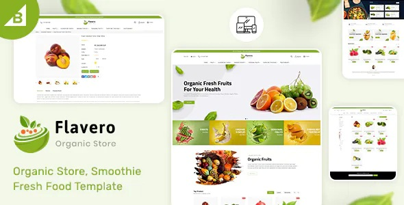 Best Organic Food Stencil BigCommerce Theme