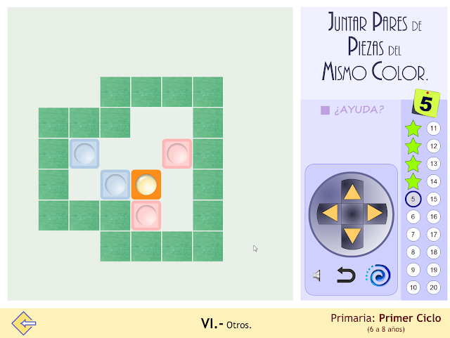 Proyecto MATE.TIC.TAC. Juegos de estrategia. Juntar piezas del mismo color_1