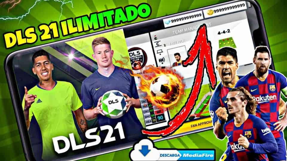 Nuevo Dream League Soccer 2021 MOD Ilimitado 2021