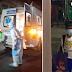 6-Anyos na Bata na may C0V1D19, Mag isang Sinundo ng Ambulansya para Dalhin sa Ospital.