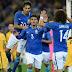 Diego Souza abre e fecha a goleada brasileira diante da Austrália
