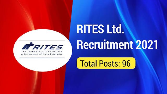 RITES Ltd Recruitment 2021: