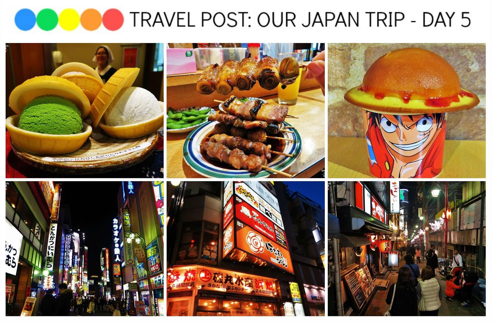 Travel Post: Our Japan Trip - Day 5 (Shinjuku Gyeon National Garden, Sunshine City, J-World, Pokemon Centre, Piss Alley aka Omoide Yokocho)