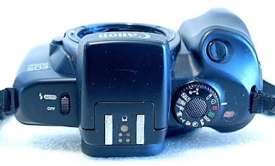 Canon EOS 700QD, Top