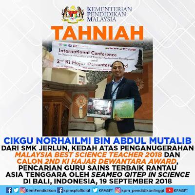 Perkongsian melalui media sosial Kementerian Pendidikan Malaysia