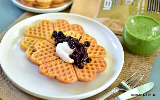 NellyBelly: Superfood Protein Gluten Free, Vegan Waffles