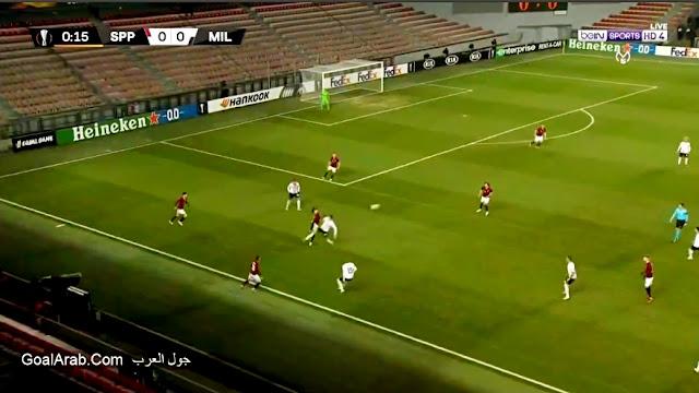 مباراة ميلان ضد سبارتا براغ - مباراة ميلان اليوم فى الدوري الاوروبي القنوات الناقلة والتشكيل