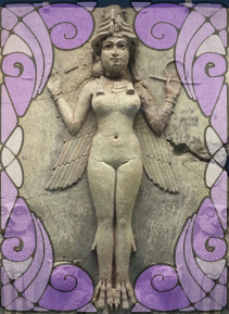Sculpture of Inanna | Wicca, Magic, Witchcraft, Paganism