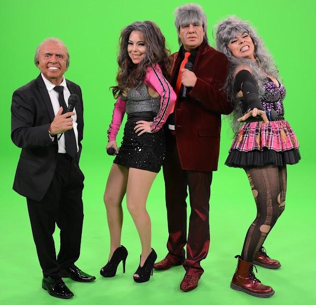Varios artistas envejecen en La parodia