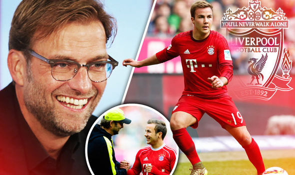 Liverpool are confident of signing Mario Gotze from Bayern Munich for a cut-price fee