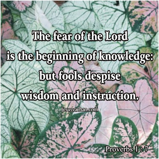 The fear of the Lord is the beginning of knowledge... proverbs jesus christ quotes about knowledge jesus vachan Bible verses, Jesus christ verses, jesus christ quotes, Jesus christ vachan, jesus christ images, jesus cross image,  jesus christ birth,