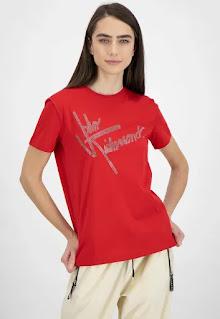 John Richmond - Дамска Тениска с овално деколте