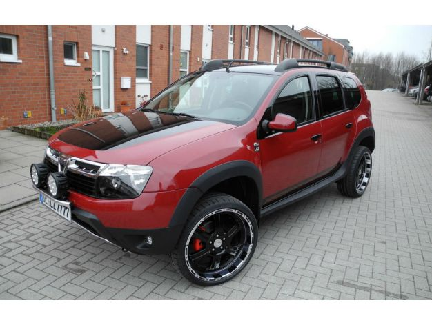 Dacia Duster Aggressive Tuning About Cars