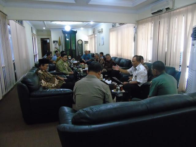 Kodim Karanganyar – Rakor Persiapan Muktamar Muhammadiyah ke 48