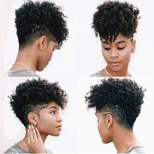 Short Natural Haircuts For Black Females 2020