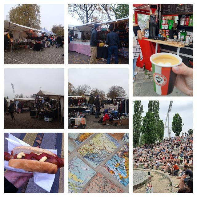 Onde comer e se divertir em Berlim - feirinha Flohmarkt in Mauerpark
