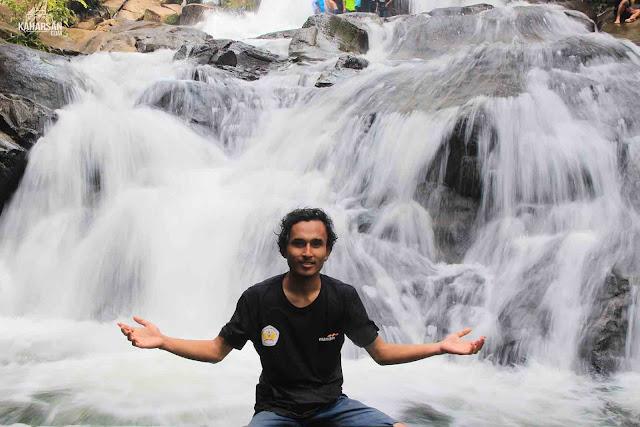 Saya Tingkat 2 Air Terjun Tengai' Wisata Kec Nanga Mahap Kab Sekadau - kaharsan